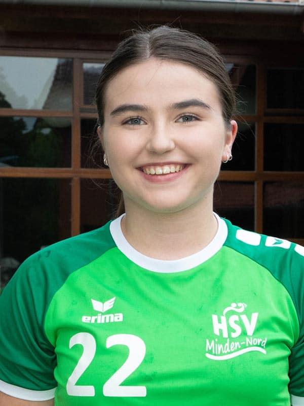 HSV 1Frauen Melina Luebbing