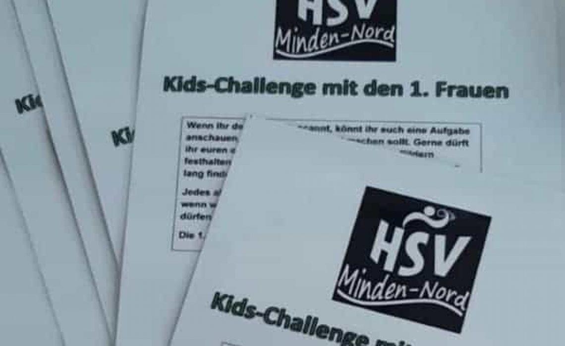 Kids-Challenge mit den 1. Frauen